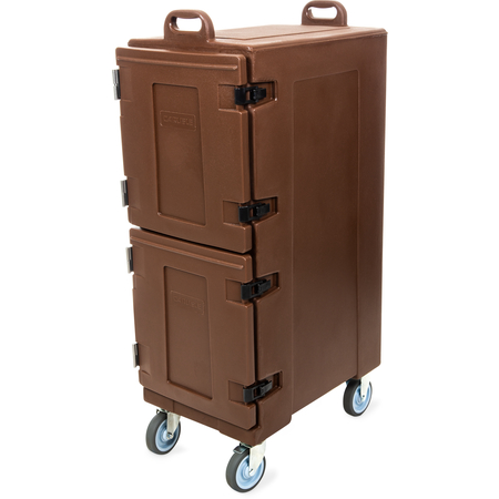 PC600N01 - Cateraide™ Insulated Front Loading Food Pan Double Carrier 10 Pan Capacity - Brown