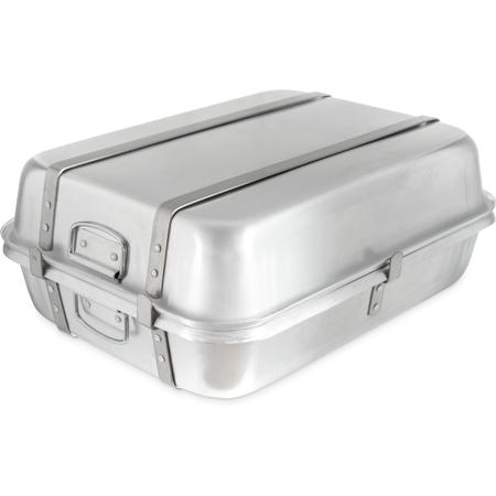 "60346 - Double Roaster 24"" x 18"" x 9"" - Aluminum"