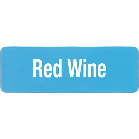 PLQ30414 - PLAQUE GLASS RED WINE CARL BLU