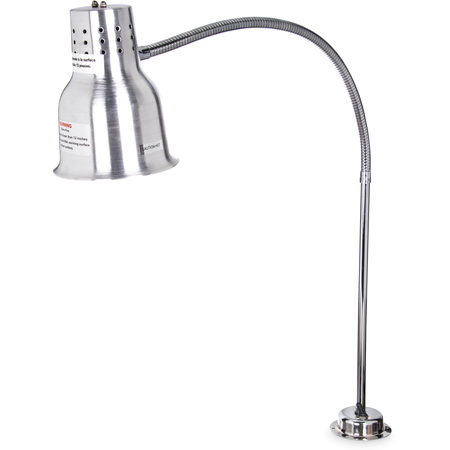 "HL819500 - FlexiGlow™ Single Arm Heat Lamp 39"" - Aluminum"