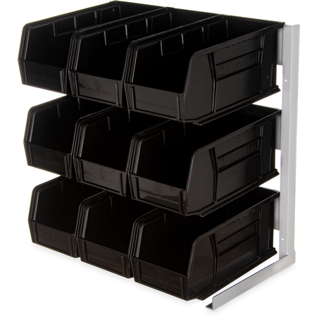 """381109LG - Packet Rack 18""""x 12""""x 19"""" - Black"""