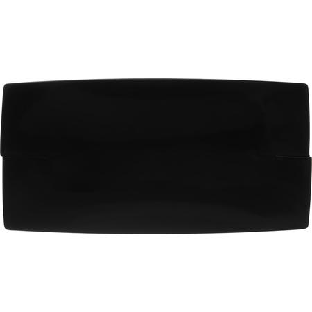 """3332203 - Rave™ Rectangular Platter 16"""" - Black"""