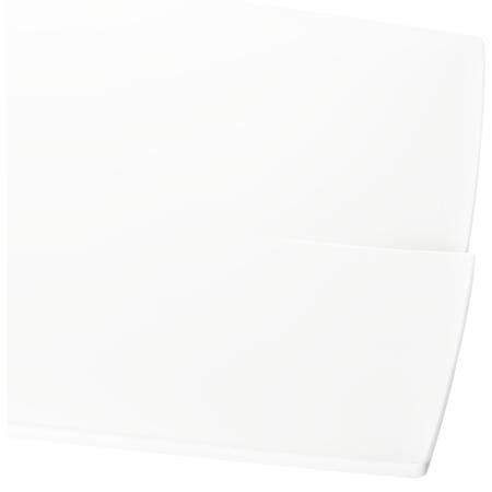 """3332202 - Rave™ Rectangular Platter 16"""" - White"""