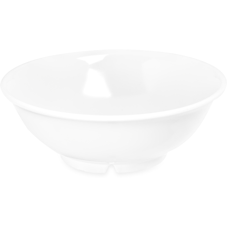 4373702 - Melamine Footed Serving Bowl 24 oz - White