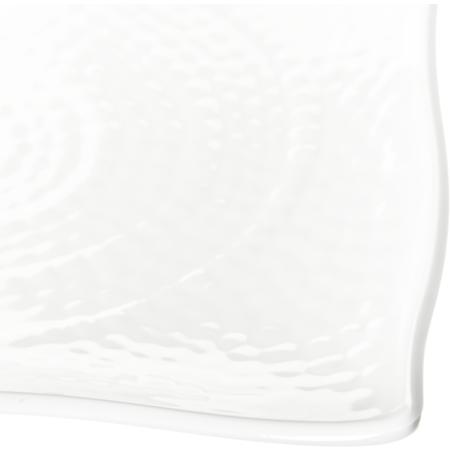 "4452202 - Terra™ Rectangular Textured Platter 11"" x 15.75"" x 1.5"" - White"