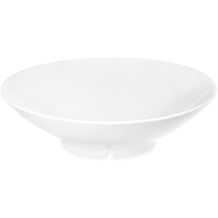 ARR24002 - Melamine Shallow Open Vegetable Bowl 46 oz - White