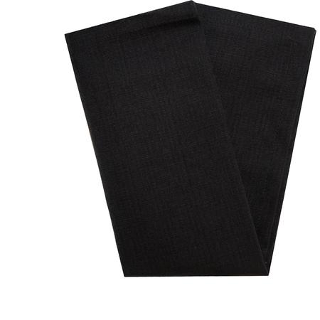 "54712020NL014 - Milan Milan Classic Linen Napkin 20"" x 20"" - Black"
