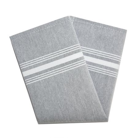 "54251822NH014 - Chambray Chambray Striped Napkin 18"" x 22"" - Black"
