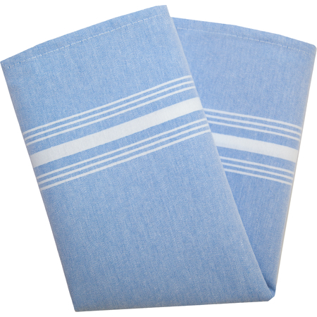"54251822NH002 - Chambray Chambray Striped Napkin 18"" x 22"" - Blue"