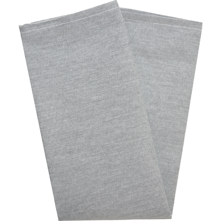 "54241822NH014 - Chambray Chambray Solid Napkin 18"" x 22"" - Black"