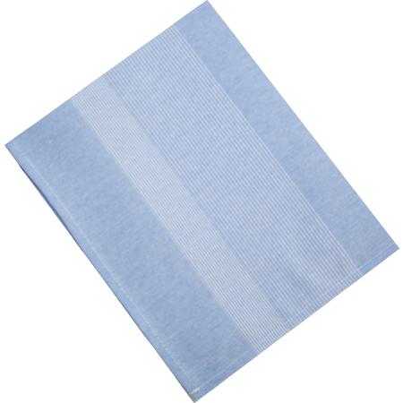 "54361822NH763 - Snap Drape® Transition Striped Napkin 18"" x 22"" - Blue"
