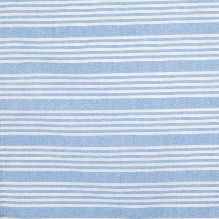 "54351822NH763 - Snap Drape® Ticking Striped Napkin 18"" x 22"" - Blue"