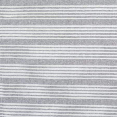 "54351822NH503 - Snap Drape® Ticking Striped Napkin 18"" x 22"" - Black"
