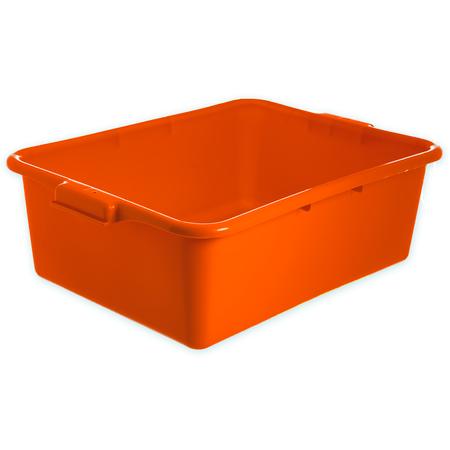 "N4401124 - Comfort Curve™ Tote Box 20"" x 15"" x 7"" - Orange"