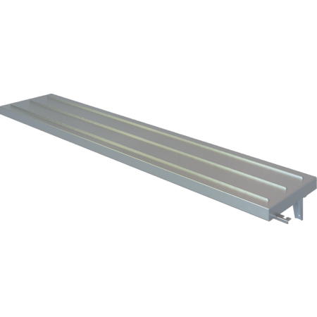 DXPSRTS4 - DineXpress® Solid Ribbed Tray Slide - 4 Well