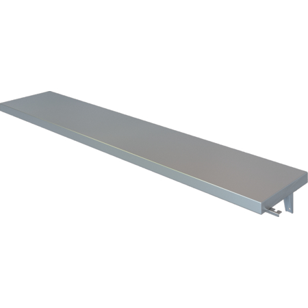 DXPSFTS104 - DineXpress® Solid Flat Tray Slide - 4 Well 10""