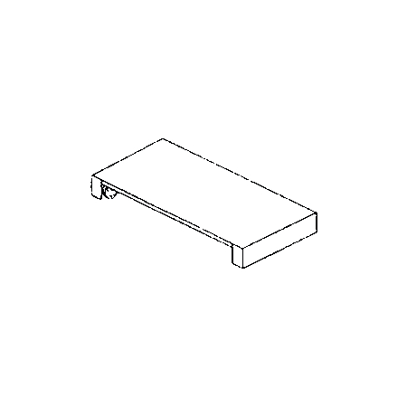 DXPSKR2 - DineXpress® Skirting - 2 Well