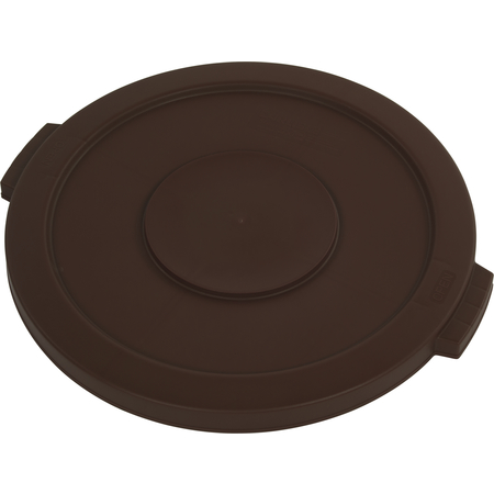 34105601 - Bronco™ Round Waste Bin Trash Container Lid 55 Gallon - Brown