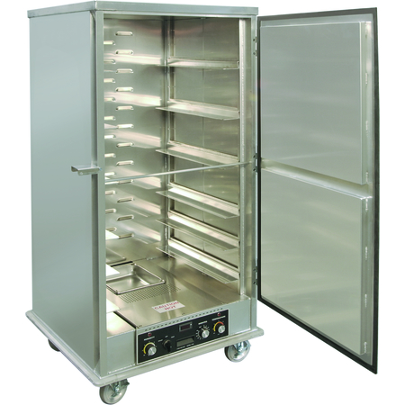 DXP934HU - Dinex® Non-Insulated Aluminum Heated Proofer Cabinet - Universal Shelving - Aluminum