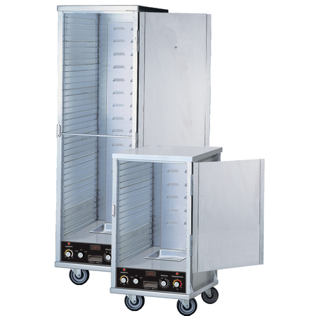 "DXP1034 - Dinex® Insulated Aluminum Heated Proofer Cabinet 31"" x 21.5"" x 68.75"" - Aluminum"