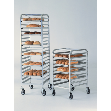 DXP520 - Knock-Down Angle Rack - Front Load - Aluminum
