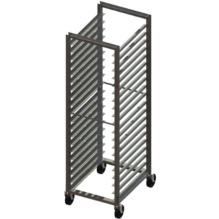 DXPA72182620 - Angle Guide Rack - Aluminum