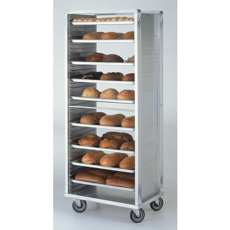 DXPR836 - Closed-Side Roll-In Rack - End Load - Aluminum