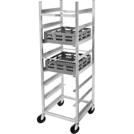 DXP208 - Glass Rack - Aluminum