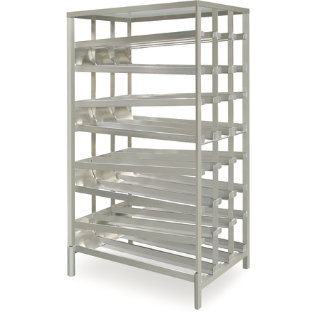 DXPCSRFF156 - Can Storage Rack - Front Load - Aluminum