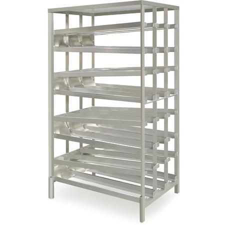 DXPCSR84 - Can Storage Rack - Rear Load - Aluminum
