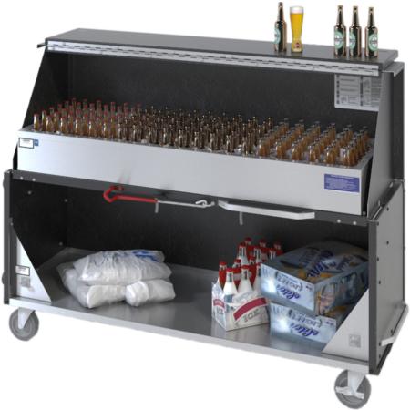 "DXPPB560IBWBC - Ice Bin Portable Bar 20.16"" x 62.5"" x 47"" - Boston Cherry"
