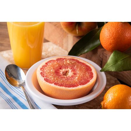 KL12102 - Kingline™ Melamine Grapefruit Bowl 10 oz - White