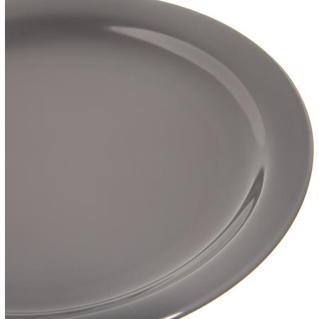 """4385240 - Dayton™ Melamine Dinner Plate 9"""" - Peppercorn"""