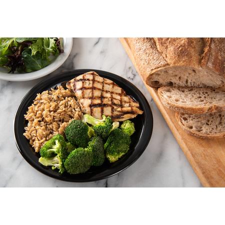 "4350103 - Dallas Ware® Melamine Dinner Plate 9"" - Black"