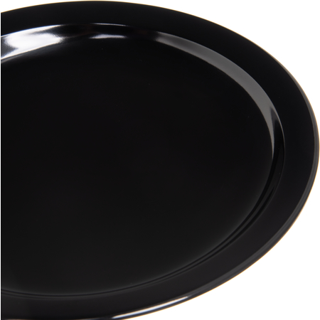 "KL20103 - Kingline™ Melamine Sandwich Plate 7.25"" - Black"