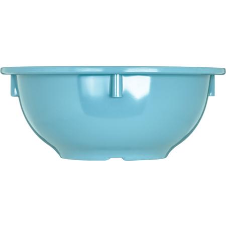 4386063 - Dayton™ Melamine Rim Nappie Bowl 14 oz - Turquoise