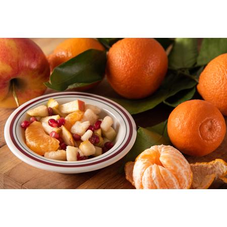 43043903 - Mosaic™ Durus® Melamine Rimmed Fruit Bowl 4.5 oz - Morocco on Bone
