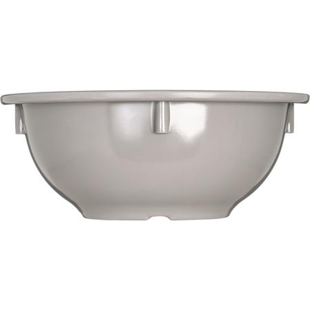 4386031 - Dayton™ Melamine Rim Nappie Bowl 14 oz - Truffle