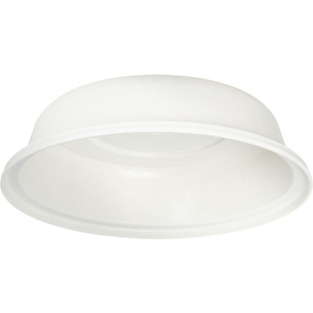"91055202 - Polyglass Plate Cover 10-1/8"" to 10-1/2""  - Bone"