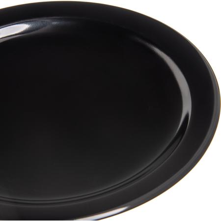 "4385403 - Dayton™ Melamine Salad Plate 7.25"" - Black"