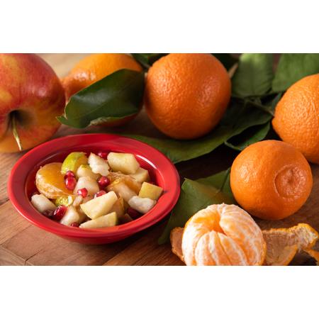 4386605 - Dayton™ Melamine Fruit Bowl 4.5 oz - Red