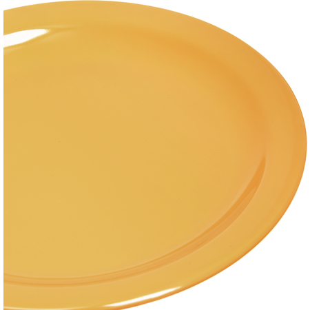 "4385422 - Dayton™ Melamine Salad Plate 7.25"" - Honey Yellow"