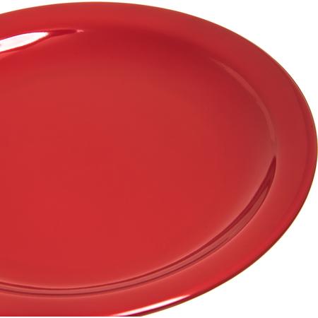 "4385405 - Dayton™ Melamine Salad Plate 7.25"" - Red"