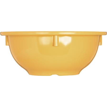 4386022 - Dayton™ Melamine Rim Nappie Bowl 14 oz - Honey Yellow