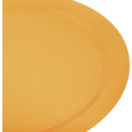 """4385022 - Dayton™ Melamine Dinner Plate 10.25"""" - Honey Yellow"""