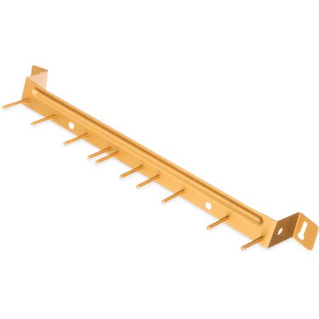 "4073504 - Spectrum® Aluminum Brush Rack 17"" Long - Yellow"
