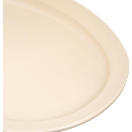 "KL12625 - Kingline™ Melamine Oval Platter Tray 13.5"" x 9.75"" - Tan"