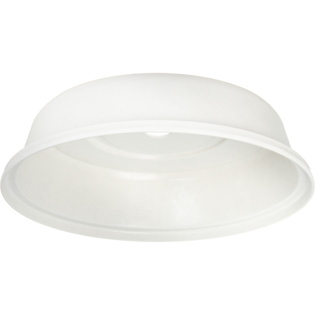 """91080202 - Polyglass Plate Cover 10-1/2"""" to 10-3/4""""  - Bone"""