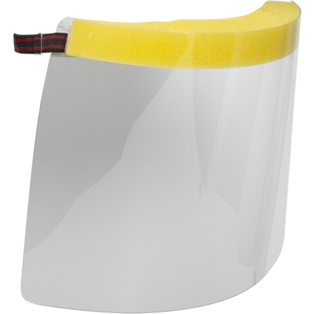 GG10002 - Germ Guard Face Shield with Elastic Band - Clear