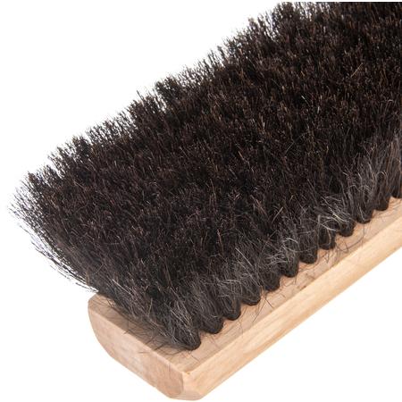 """364342403 - 24"""" 100% Pure Horsehair Sweep 24"""" - Black"""